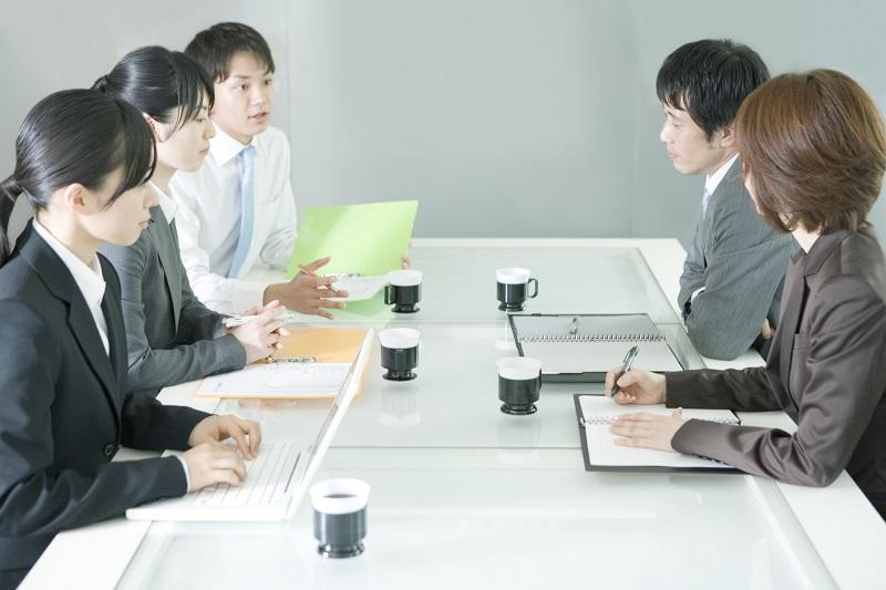 職場ミーティング